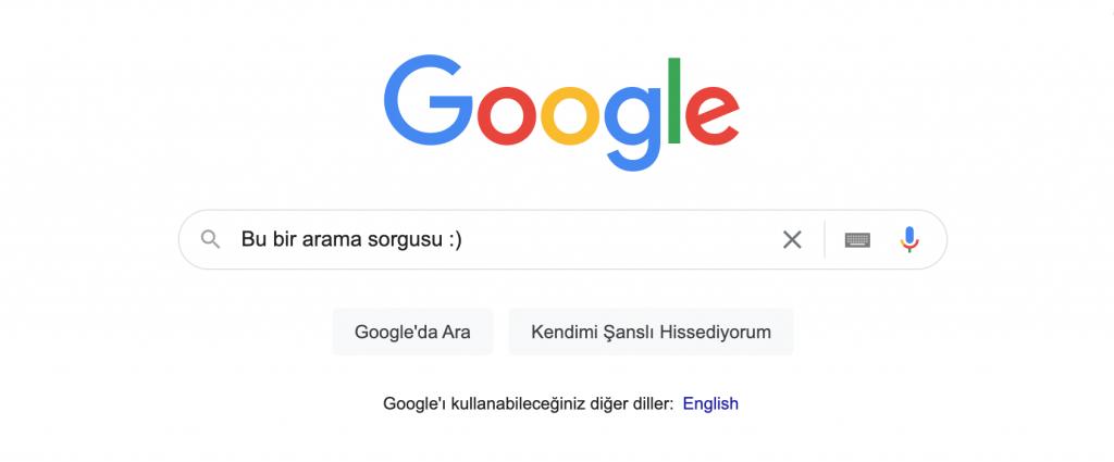 Arama Sorgusu